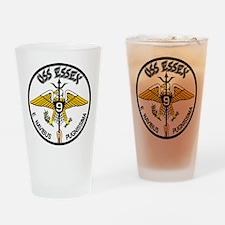USS Essex CVA-9 CVS-9 Drinking Glass