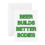 Beer Belly Under Construction Greeting Cards (Pack