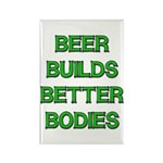 Beer Belly Under Construction Rectangle Magnet