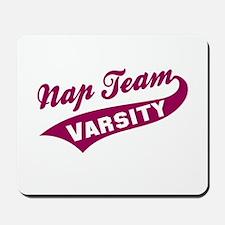 Nap Team Varsity Mousepad