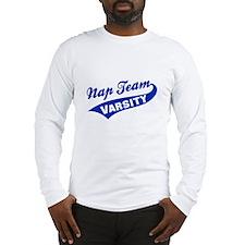 Nap Team Varsity Long Sleeve T-Shirt