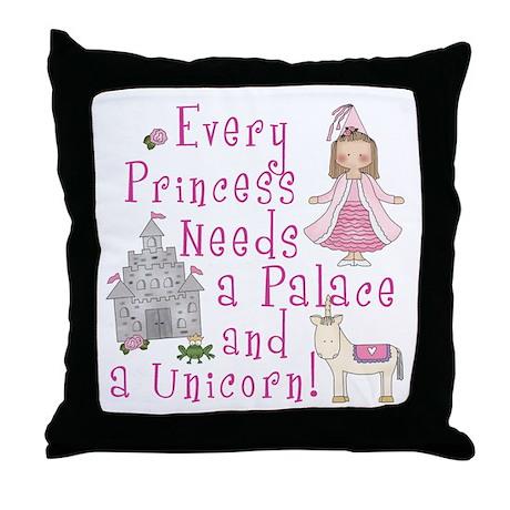 Every Princess Throw Pillow