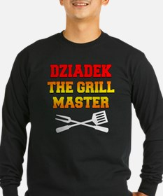 Dziadek The Grill Master Long Sleeve T-Shirt