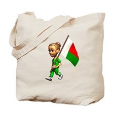 Madagascar Girl Tote Bag