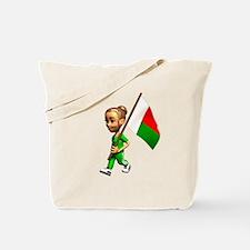 Madagascar Girl Tote Bag