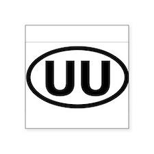 """Cute Uu Square Sticker 3"""" x 3"""""""