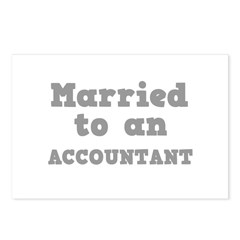 Married to an Accountant Postcards (Package of 8)