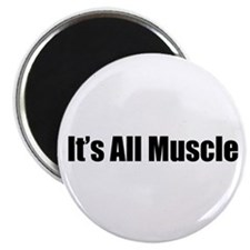 It's All Muscle Magnet