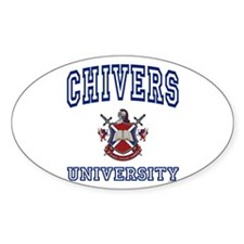 CHIVERS University Oval Decal