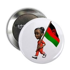 "Malawi Girl 2.25"" Button (10 pack)"