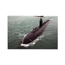 USS HAMPTON Magnets