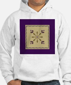 jewelry dangles twisted rope border queen Hoodie
