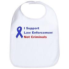 support law enforcement Bib