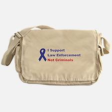 support law enforcement Messenger Bag