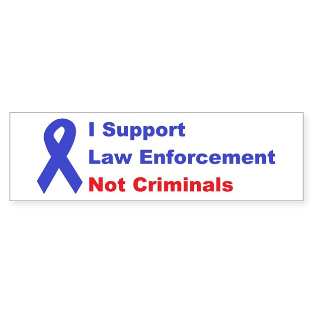 support law enforcement sticker bumper by joespoliticalts With kitchen colors with white cabinets with police support bumper stickers