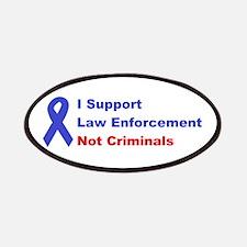 support law enforcement Patches
