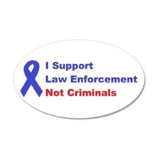 support law enforcement Decal Wall Sticker