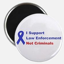 support law enforcement Magnet