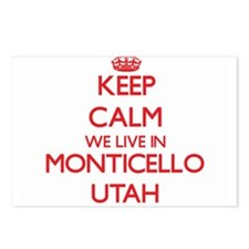 Keep calm we live in Mont Postcards (Package of 8)