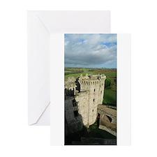 Panorama Raglan Castle Greeting Cards (10 Pk)