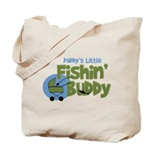 Daddy's Little Fishin' Buddy Tote Bag