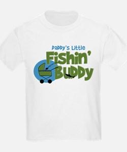 Daddy's Little Fishin' Buddy T-Shirt