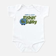 Daddy's Little Fishin' Buddy Infant Bodysuit
