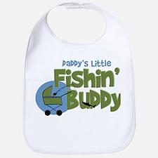 Daddy's Little Fishin' Buddy Bib