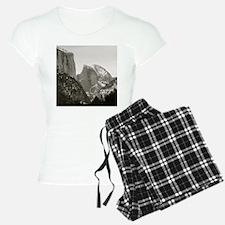 Half Dome in Winter Pajamas