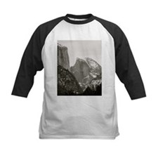 Half Dome in Winter Baseball Jersey