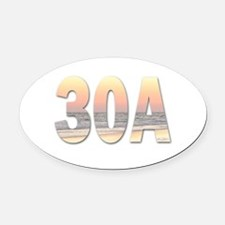 30A Oval Car Magnet