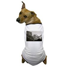 Half Dome in Winter Dog T-Shirt