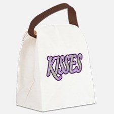KISSES Canvas Lunch Bag
