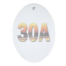 30A Ornament (Oval)