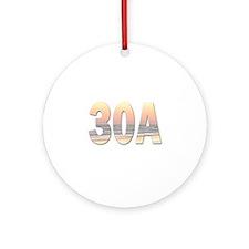 30A Ornament (Round)