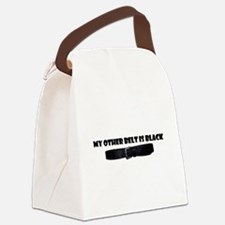 Funny Sigma Canvas Lunch Bag