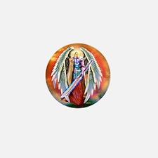Angel Michael Mini Button