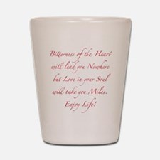 Love in your Soul Shot Glass