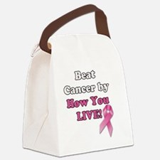 Beat Cancer Canvas Lunch Bag