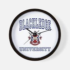 BLACKLEDGE University Wall Clock