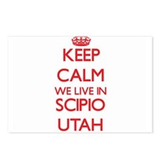 Keep calm we live in Scip Postcards (Package of 8)