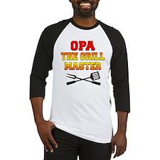 Opa The Grill Master Baseball Jersey