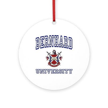 BERNHARD University Ornament (Round)