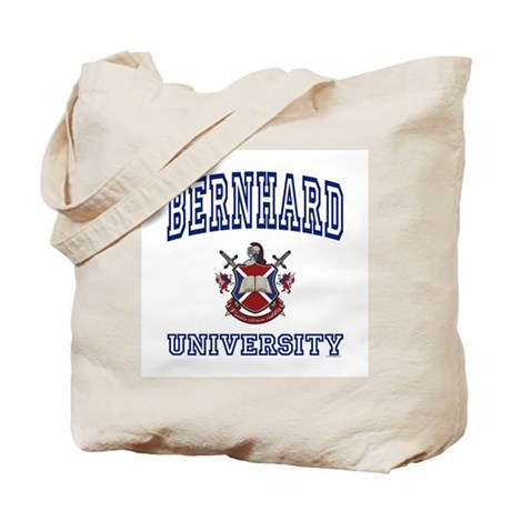 BERNHARD University Tote Bag