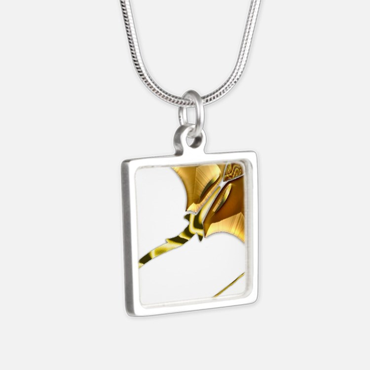 Gold Manta Sting Ray Necklaces