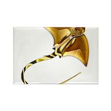 Gold Manta Sting Ray Magnets