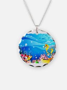 Undersea Coral, Fish Seah Necklace