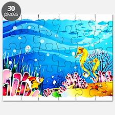 Undersea Coral, Fish Seahorses Puzzle