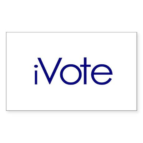iVote Rectangle Sticker