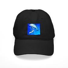 Mom Baby Dolphin Baseball Hat